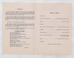 Funeral Services for Miss Lula Smith - New York Public Library's ...