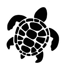 Amazon Com Custom Sea Turtle Vinyl Decal Ocean Life Bumper Sticker For Tumblers Laptops Car Windows Pick Size And Color Beach Gift Handmade
