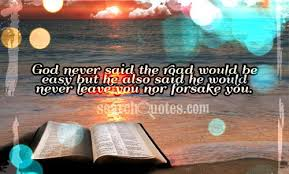 god will never leave me quotes quotations sayings