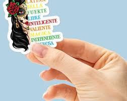 Latina Stickers Etsy