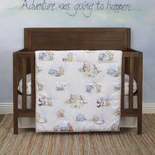 nursery 6 piece crib bedding set