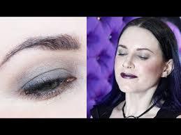 back to goth makeup tutorial