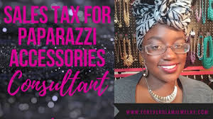 s tax for paparazzi accessories