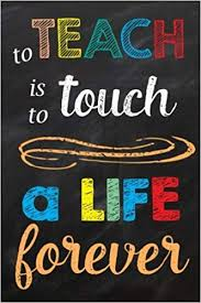 com to teach is to touch a life forever teacher gift
