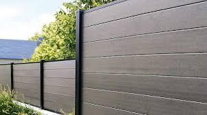 Composite Fence Vs Wood Fence Composite Fence Alternative Wood Fences Wood Plastic Composite Wood Fence Fence Design