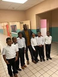 """Jermall Wright on Twitter: """"I walked into Ida Greene Elementary this  afternoon and was greeted/escorted by these young kings. It's an honor for  me to serve and ensure that they receive an"""