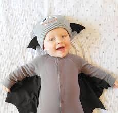 no sew diy bat baby baby costume