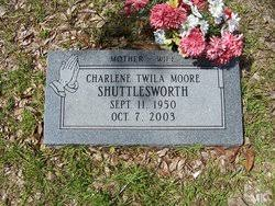 Flowers for Charlene Twila Moore Shuttleworth - Find A Grave Memorial