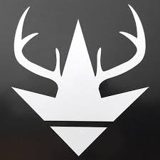 Ka Antler Logo Vinyl Decal Luckless Outfitters