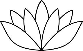 white flower clip art free vector