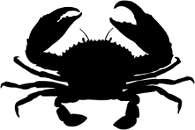Crab Decal Stsba 2 Vinyl Window Stickers Wildlife Decal