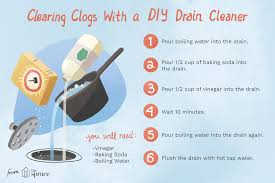 how to make your own homemade drain cleaner