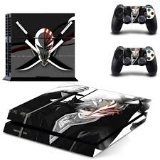 Amazon Com Vanknight Vinyl Decal Skin Sticker Anime Bleach Ichigo For Ps4 Playstaion Controllers Video Games