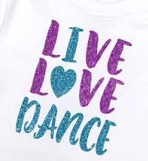 Iron On Dance Decal Dance Vinyl Decal Dance Shirt Decal Etsy