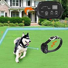 Amazon Com Covono Electric Dog Fence Pet Containment System Aboveground Underground 650 Ft Wire Ip66 Waterproof Rechargeable Collar Shock Tone Correction 1 Dog System Covono Pet Supplies