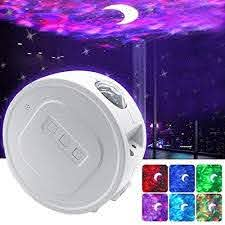Aurora Night Light Projector Laser Projector And Sleeping Soothing White Noise Sound Machine For Baby Kids Adults 6 Nebula Lighting Modes For Kids Room Walmart Com Walmart Com