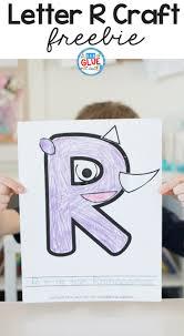 alphabet r is for rhinoceros craft