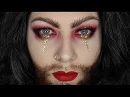 bearded lady halloween makeup tutorial