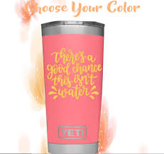 Monogram Vinyl Decal For Tumblers Cups Sticker With Quote Ebay