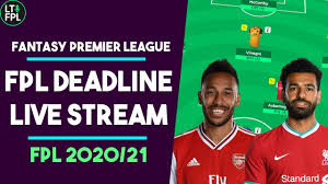 FPL DEADLINE STREAM - LOCKING IN THE DRAFT | Gameweek 1 | Fantasy Premier  League Tips 2020/21 - YouTube