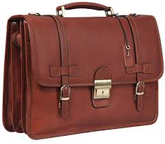 italian leather briefcase business