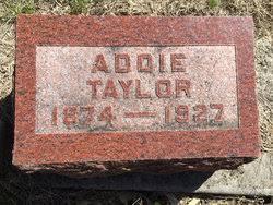 Addie Taylor (1874-1927) - Find A Grave Memorial