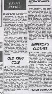 Old King Cole' by Trudy West | Markhouse Drama Club