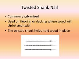 types of nails powerpoint presentation