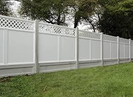Metisse Upvc Fence Panel 1800mm W X 1500mm H Amazon Co Uk Garden Outdoors