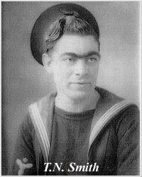 H.M.S. Hood Association-Battle Cruiser Hood: Crew Information - H.M.S. Hood  Roll of Honour, Memorial to Stoker 1st Class Thomas Nelson Smith