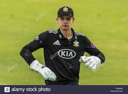 London, UK. 2 May, 2019. Wicketkeeper Jamie Smith as Surrey take on Kent in  the Royal London One-Day Cup match at the Kia Oval. David Rowe/ Alamy Live  News Stock Photo - Alamy
