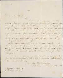 Letter from Adeline Roberts, Salem, [Massachusetts], to Samuel May ...
