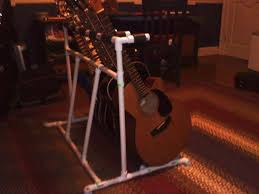5 guitar stand out of pvc guitar