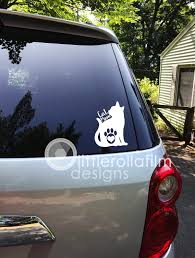Cat Mom Vinyl Decal Gift Gift For Her Gift For Him Crazy Etsy Vinyl Decals Handmade Shop Nautical Gifts