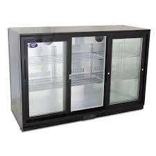 330l commercial bar fridge 3 glass