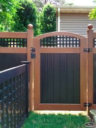 Illusions Pvc Vinyl Fence Photo Gallery Illusions Fence Backyard Fences Backyard Fence Design