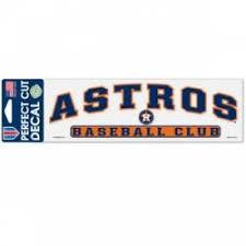Houston Astros Stickers Decals Bumper Stickers