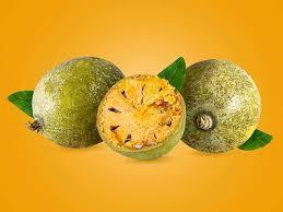 wood apple or bael fruit