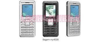 Sagem my400X - características, ficha ...