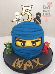 Lego Ninjago cake   Ninja birthday parties, Lego ninjago birthday ...