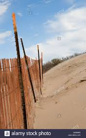 Snow Fence On Sand High Resolution Stock Photography And Images Alamy