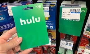 hulu gift cards at cvs