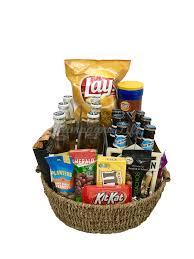 jumbo beer gift basket chagne life