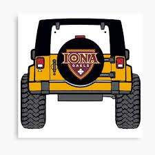 Iona College Canvas Print By Katann37 Redbubble