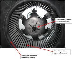bathroom fan noise cause solution