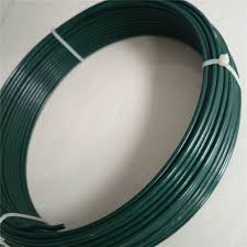 china green pvc coated garden wire