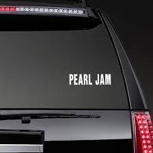 Pearl Jam Outdoor Vinyl Sticker Car Stickers