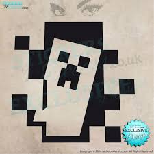 Minecraft Car Decal Google Search Decal Wall Art Vinyl Wall Art Minecraft Decals