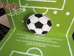 Diseno En Relieve De Tarjeta De Futbol Con Imagenes Tarjetas