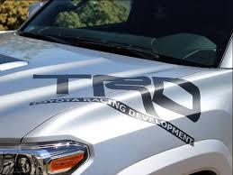 Product Toyota Racing Development Trd Hood Big Graphic Decals Stickers 2